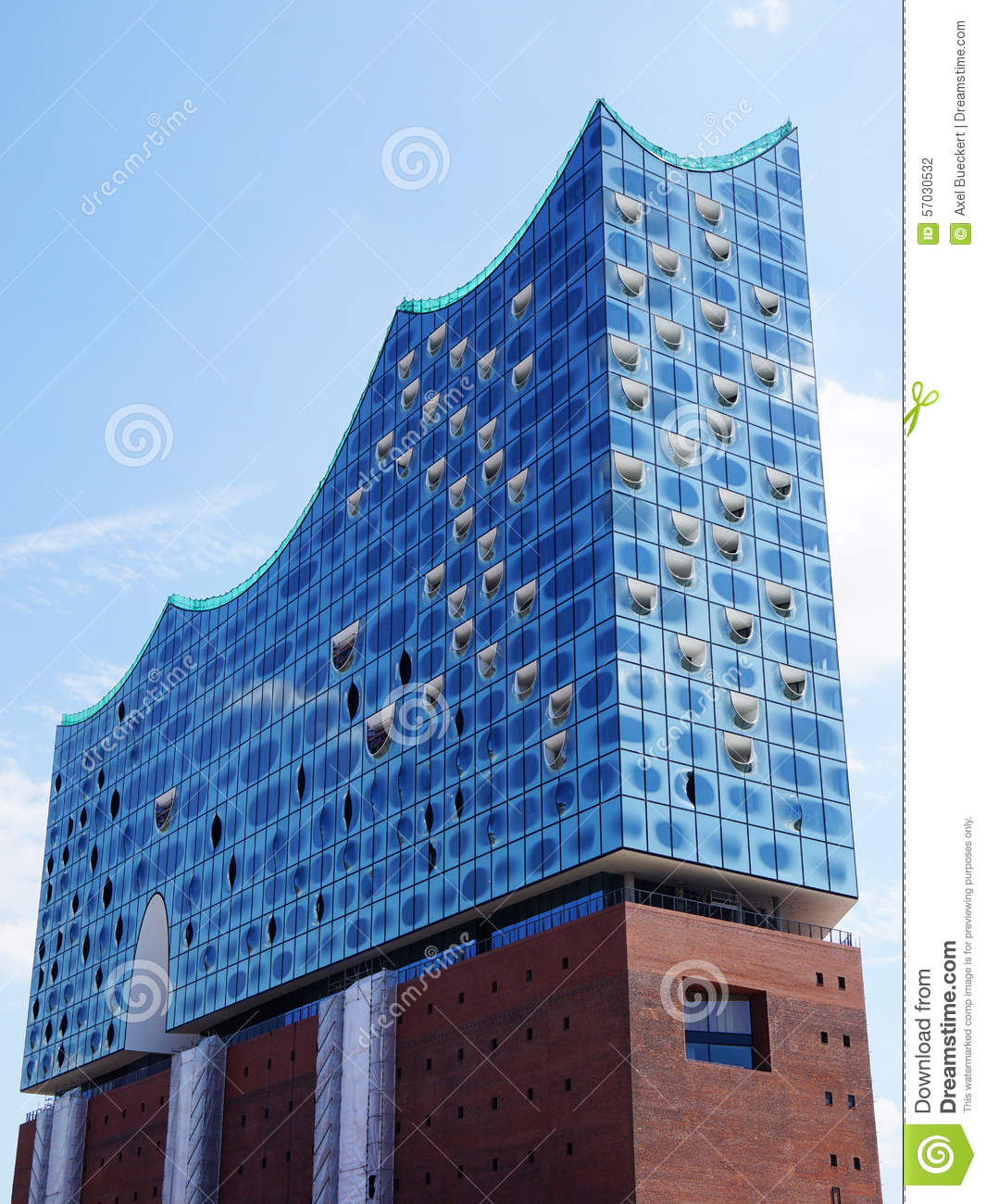 Elbphilharmonie In Hamburg Germany Stock Photo.