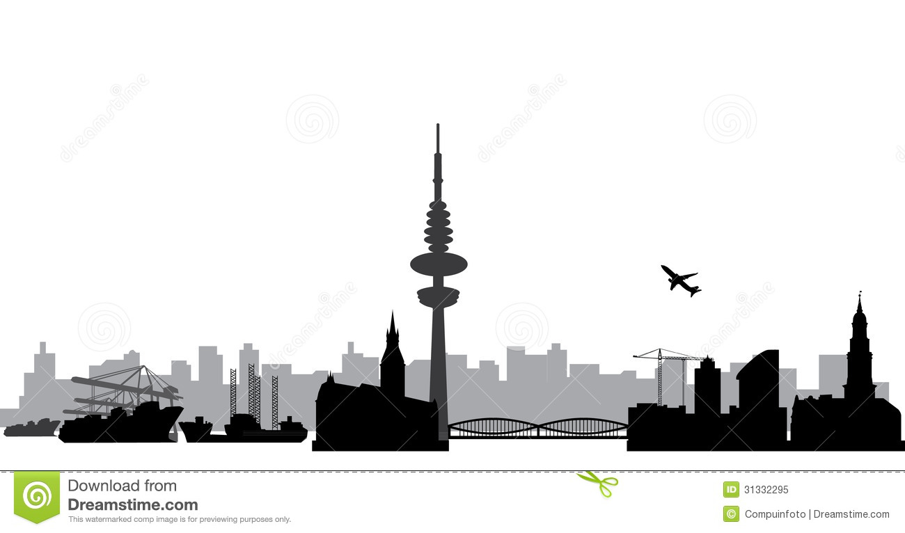 Hamburg Stock Illustrations.