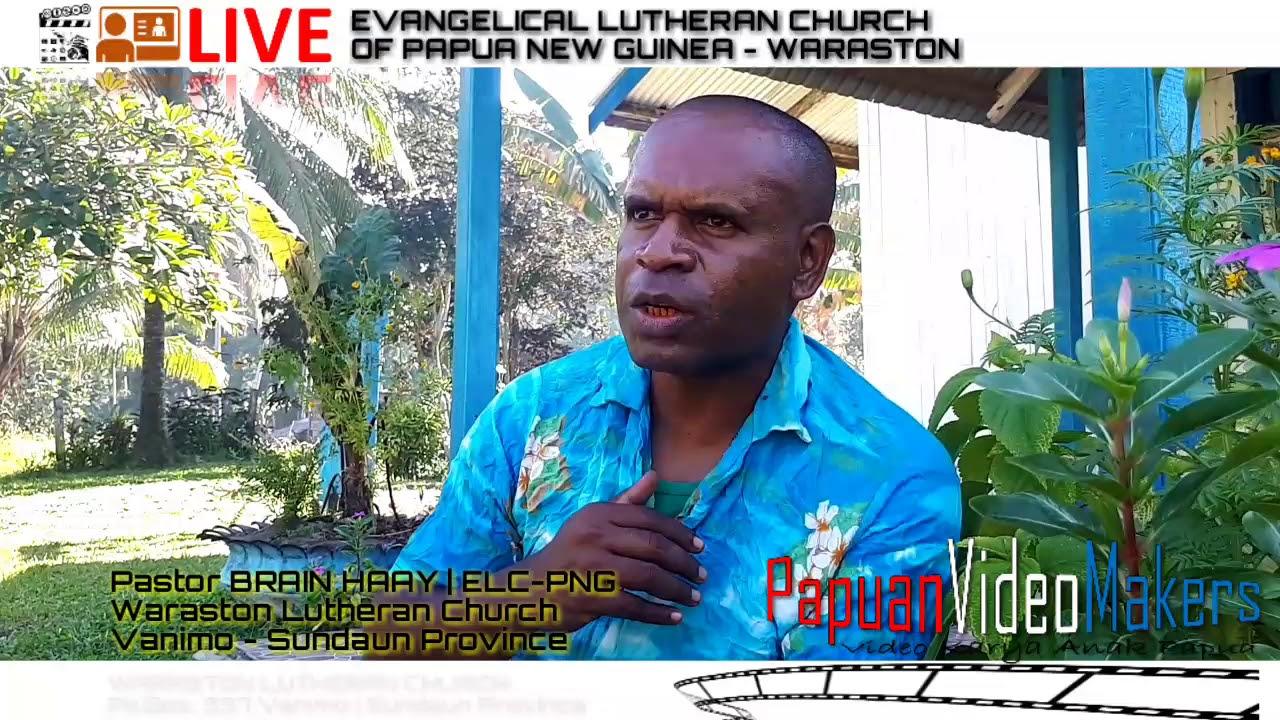 WARASTON LUTHERAN CHURCH.