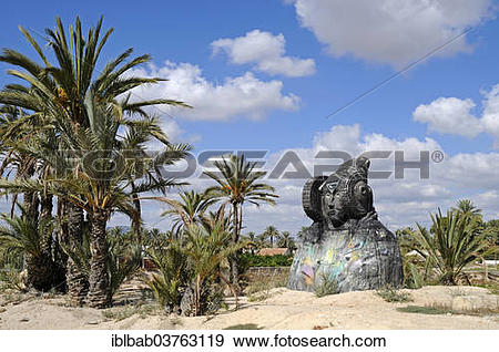 "Stock Photograph of ""Lady of Elche, sculpture, Museo de la Alcudia."