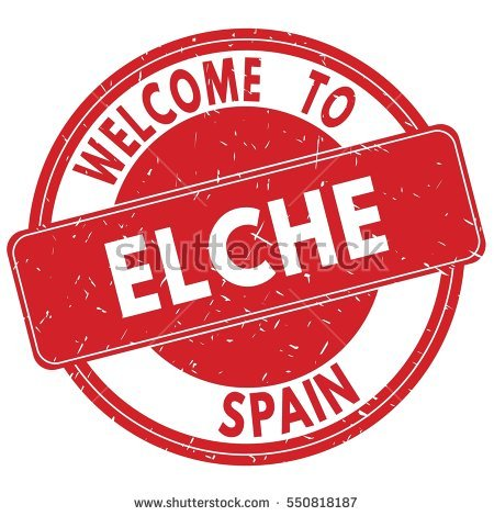 Elche Stock Photos, Royalty.