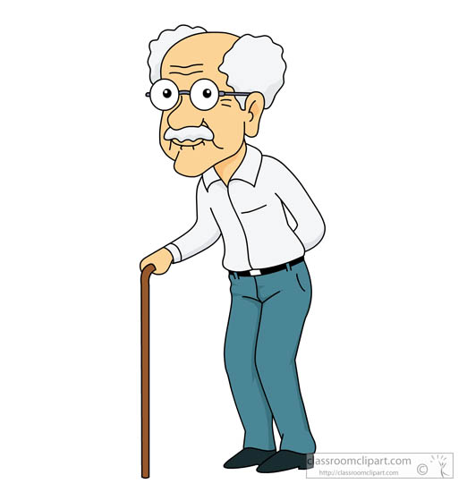 Elder people clipart.