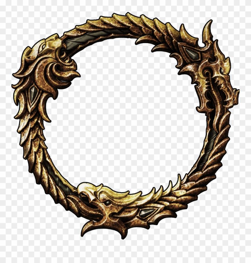 Elder Scrolls Online Logo Transparent Clipart (#394917.