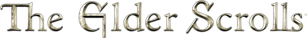 The Elder Scrolls Logo.