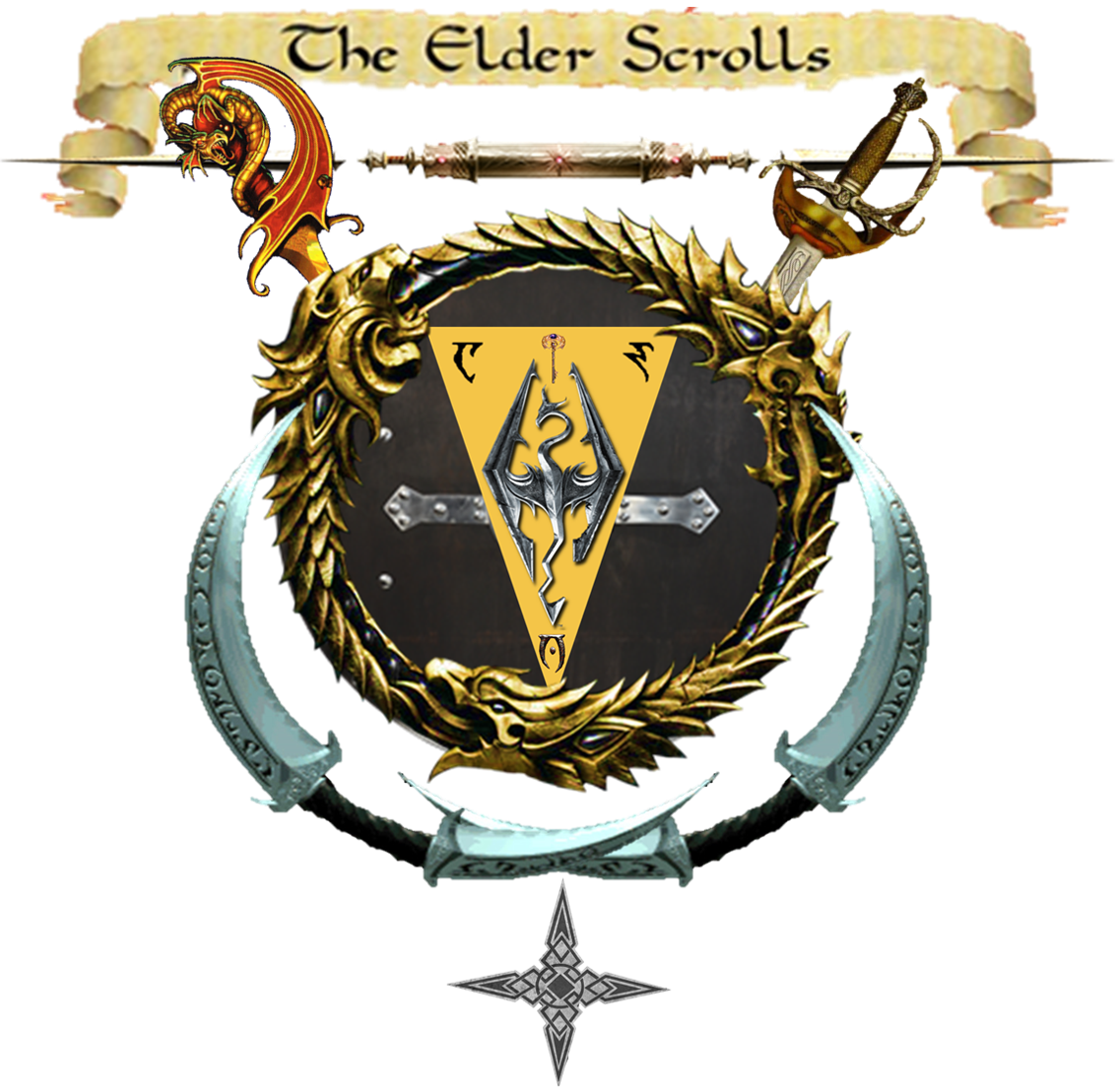 Ultimate Elder Scrolls Logo: Take 2! : ElderScrolls.