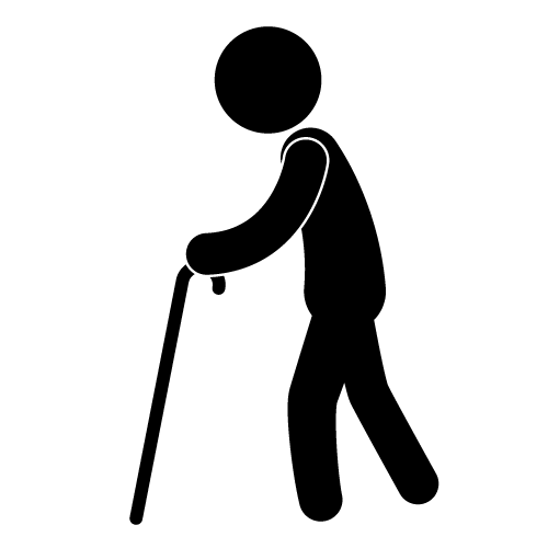 Elderly People Clipart.