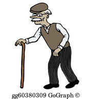 Old Man Clip Art.