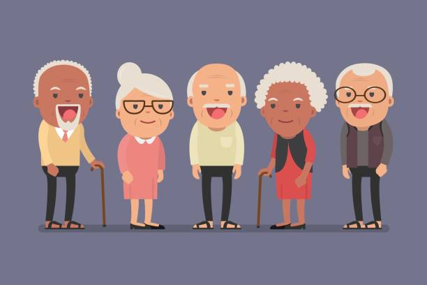 Top Elderly Clip Art Vector Graphics And Illustrations IStock.