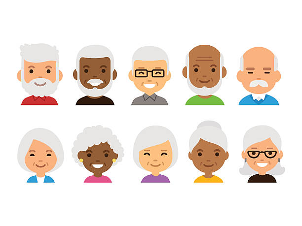 Elderly People Clipart Free Download Clip Art.