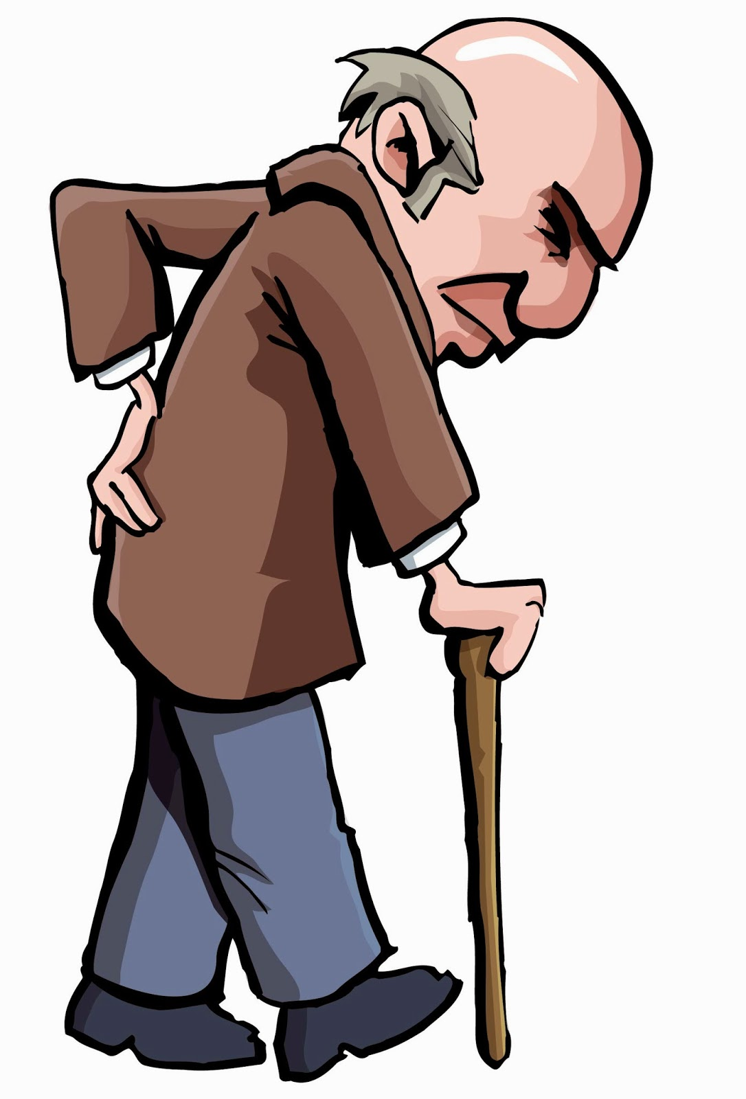 Old Person Clipart.
