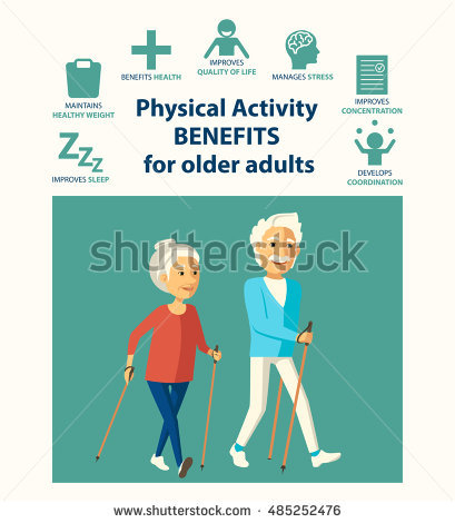 Active Older Adults Stock Vectors, Images & Vector Art.