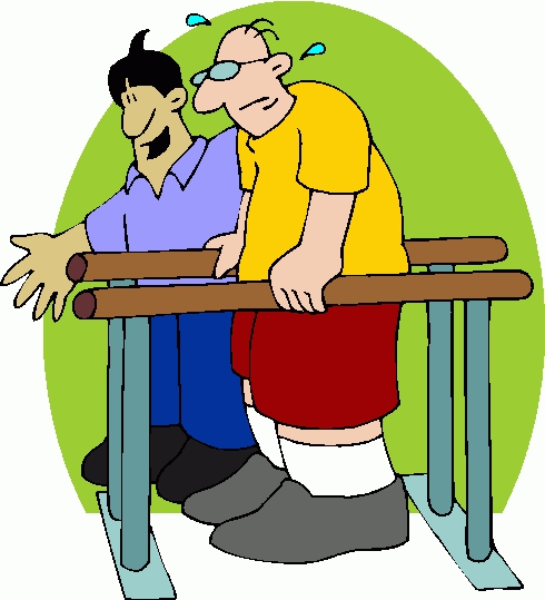 Physical Therapy Clipart#2101671.