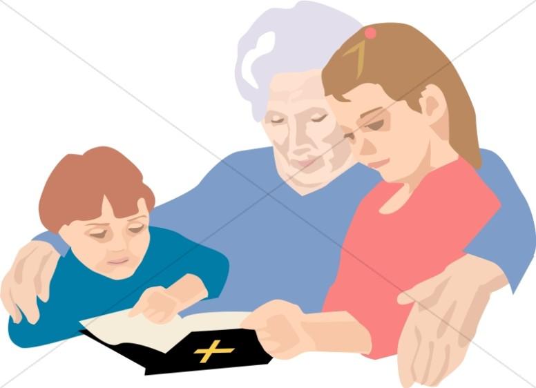 Christian Senior Clipart, Christian Elders Clipart.