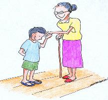 Respect your elders clipart.