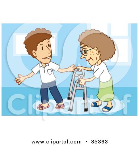 Respect elders clipart.