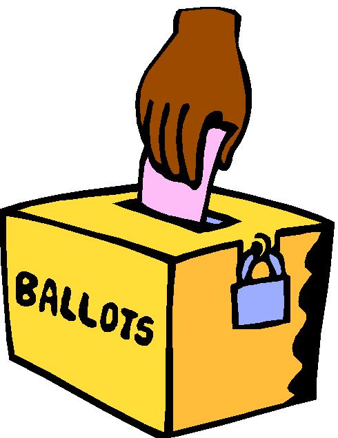 Election Ballot Cliparts.