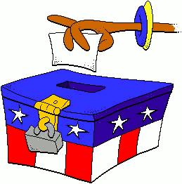 Election ballot clipart.