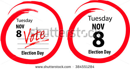 Election Day Stock Images, Royalty.