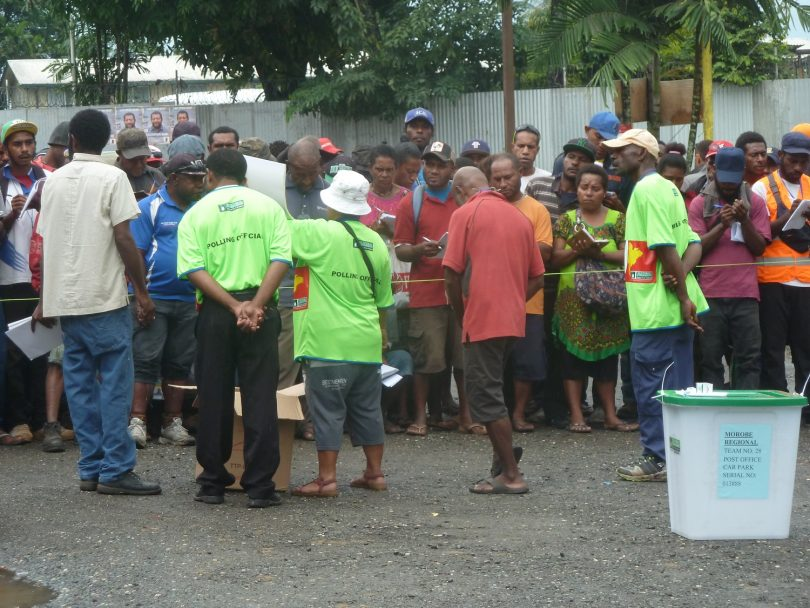 What's the matter with elections in PNG?.