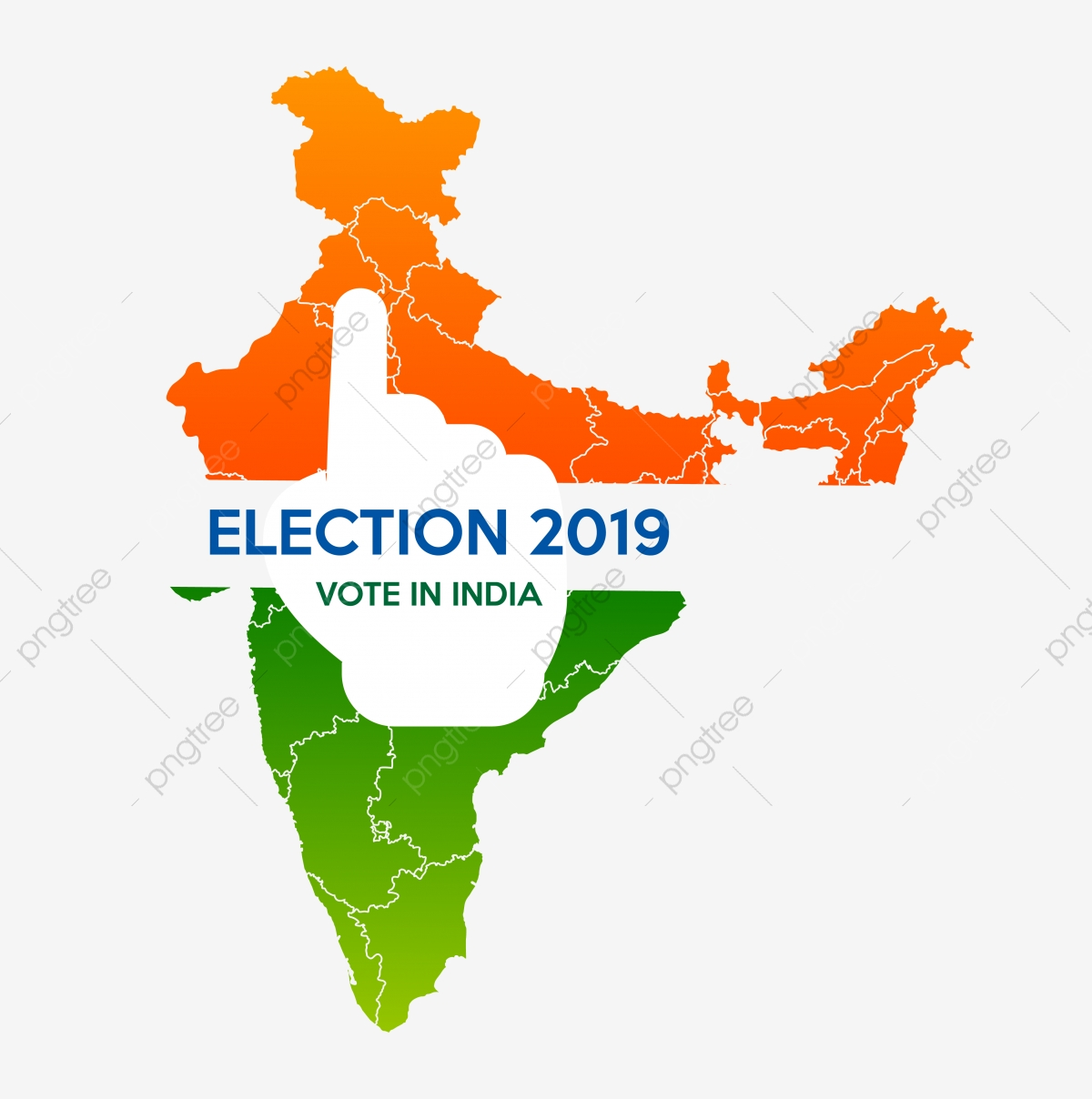 Vote In India Election 2019, Election, India, Vote PNG and Vector.