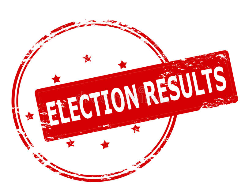 Election Results Stock Illustrations.