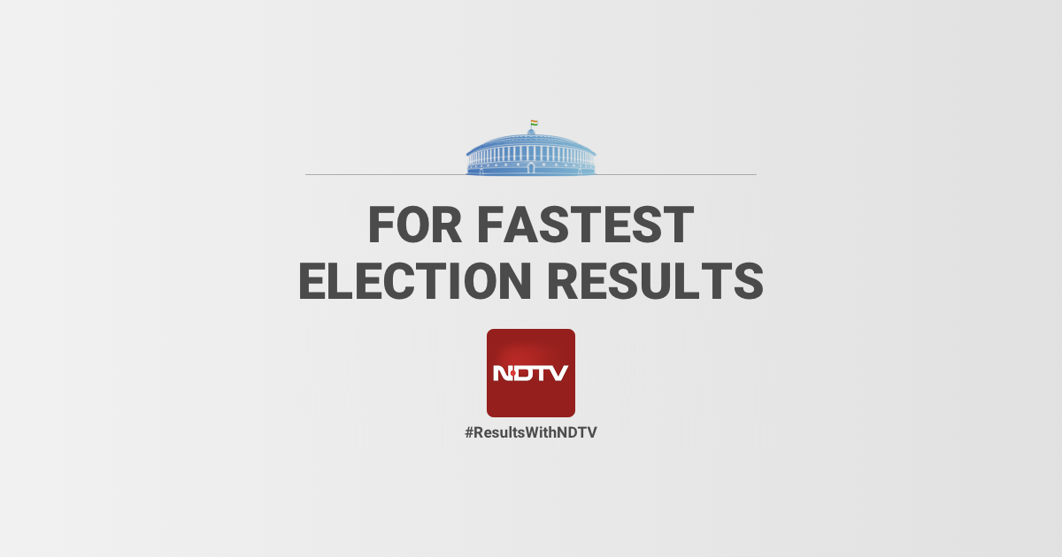 LIVE Election Results, Lok Sabha Election Results 2019, General.