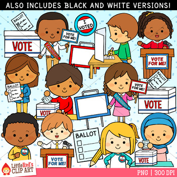 Voting Election Cliparts Worksheets & Teaching Resources.