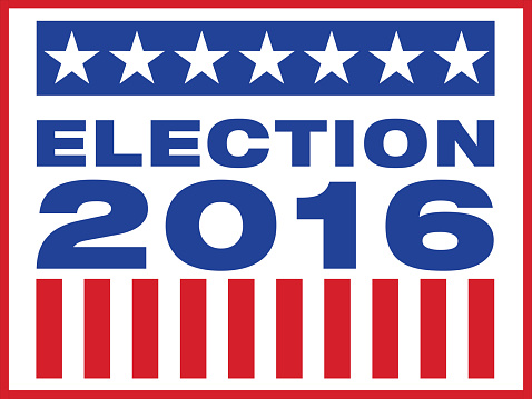 Election Day Clipart 2016.