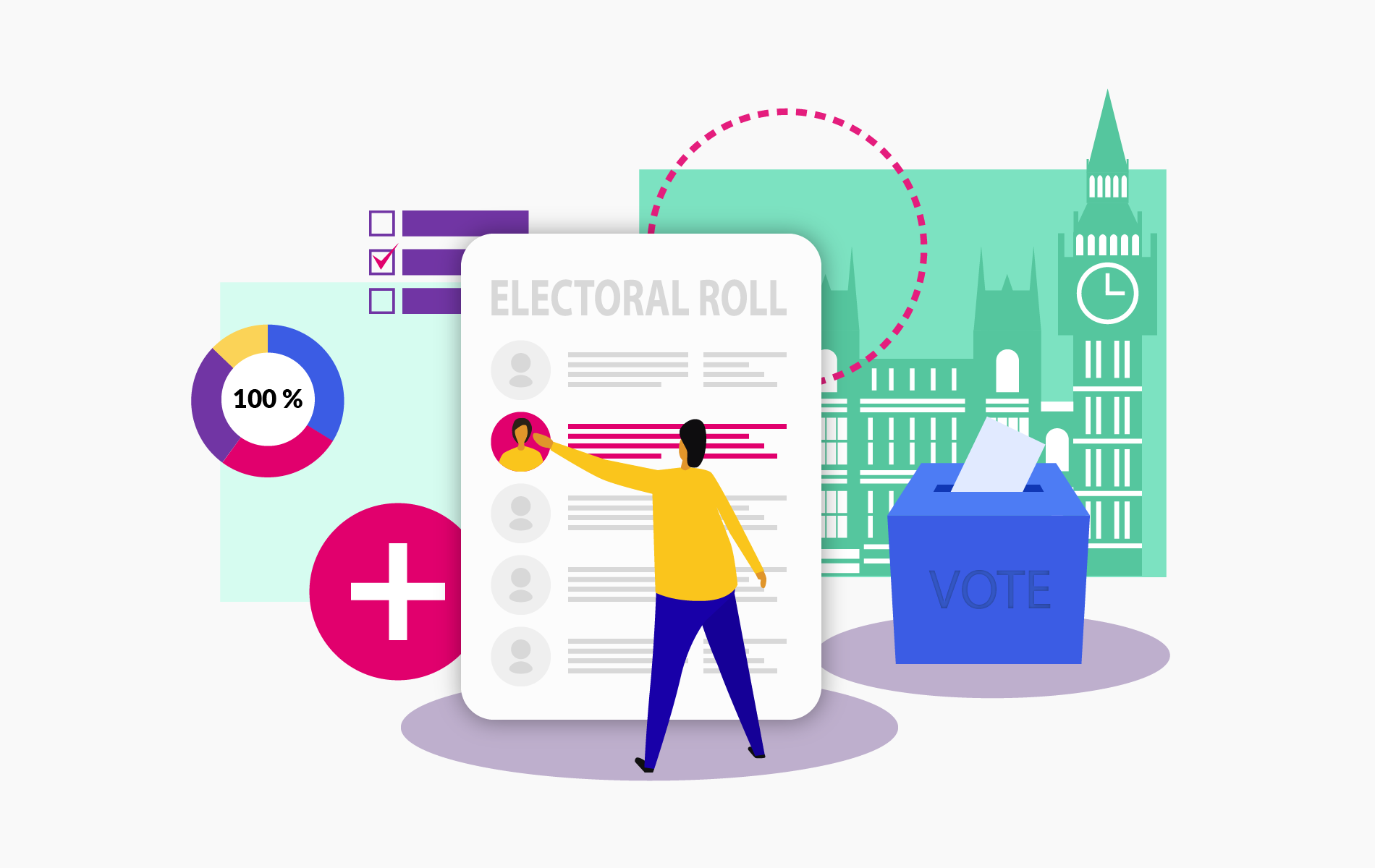 Why signing onto the electoral roll will boost your credit score.