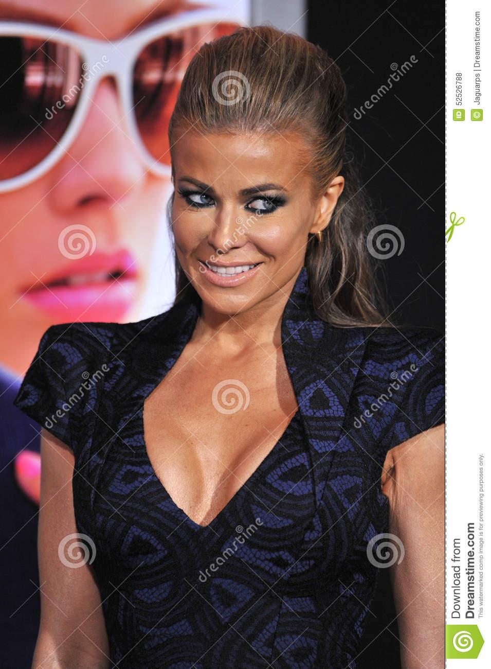 Carmen Electra Editorial Stock Photo.