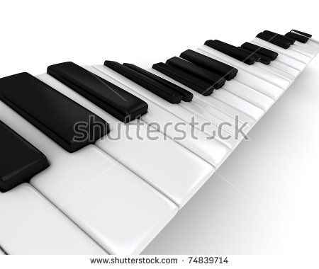 Piano Cartoon Stock Images, Royalty.