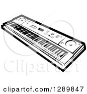 Gallery For > Playing Electric Keyboard Clipart.