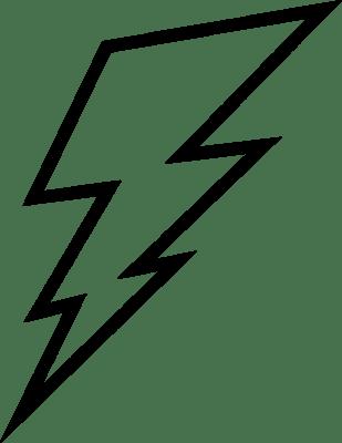 Electric bolt clipart 1 » Clipart Portal.
