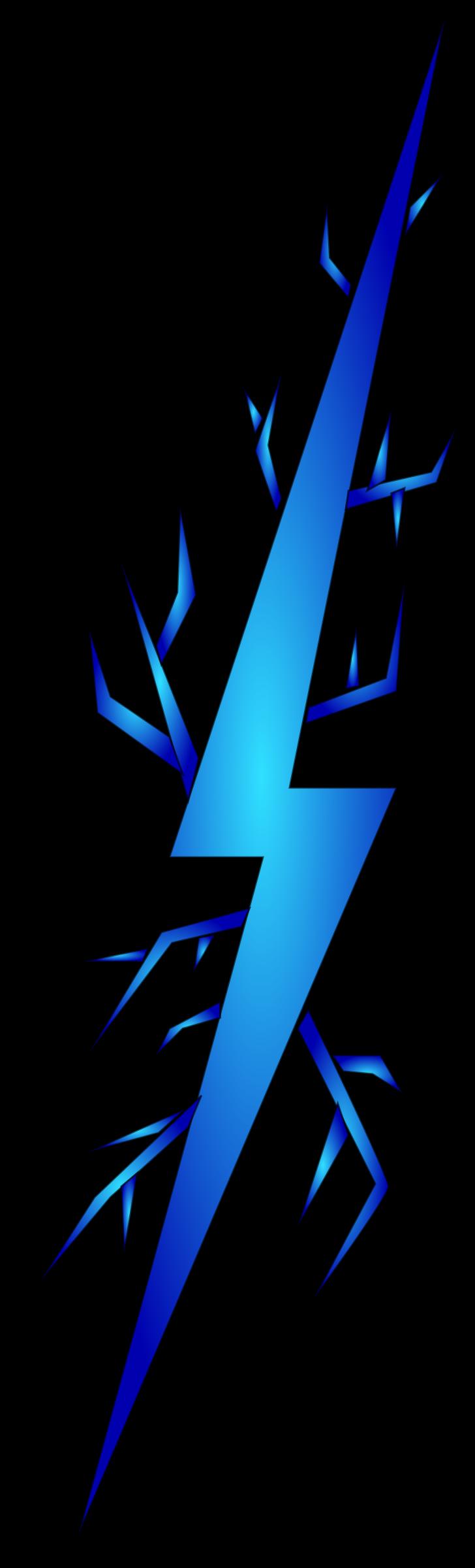 Cartoon Lighting Bolt Clipart.