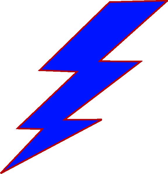 Blue Lightning Bolt Clip Art at Clker.com.