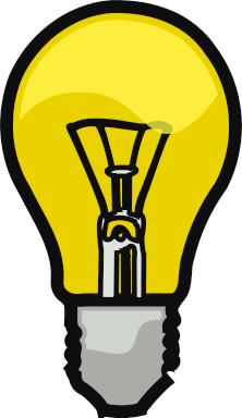 Free Lightbulb Clipart, 2 pages of Public Domain Clip Art.