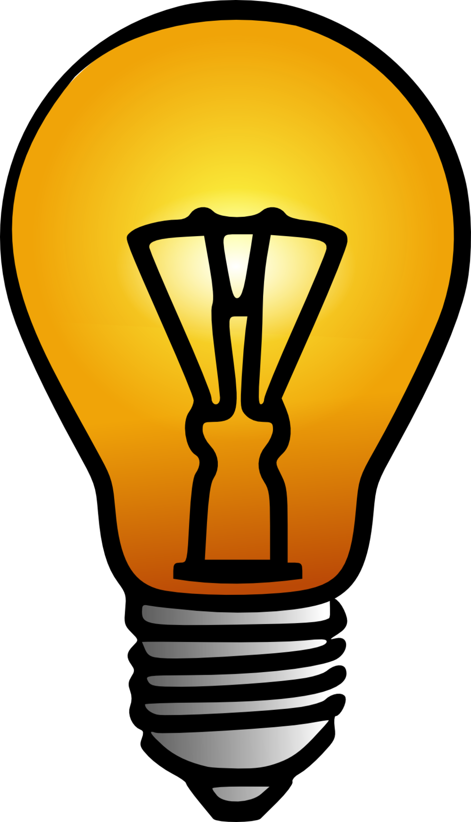 Light Bulb Clip Art Clipart.