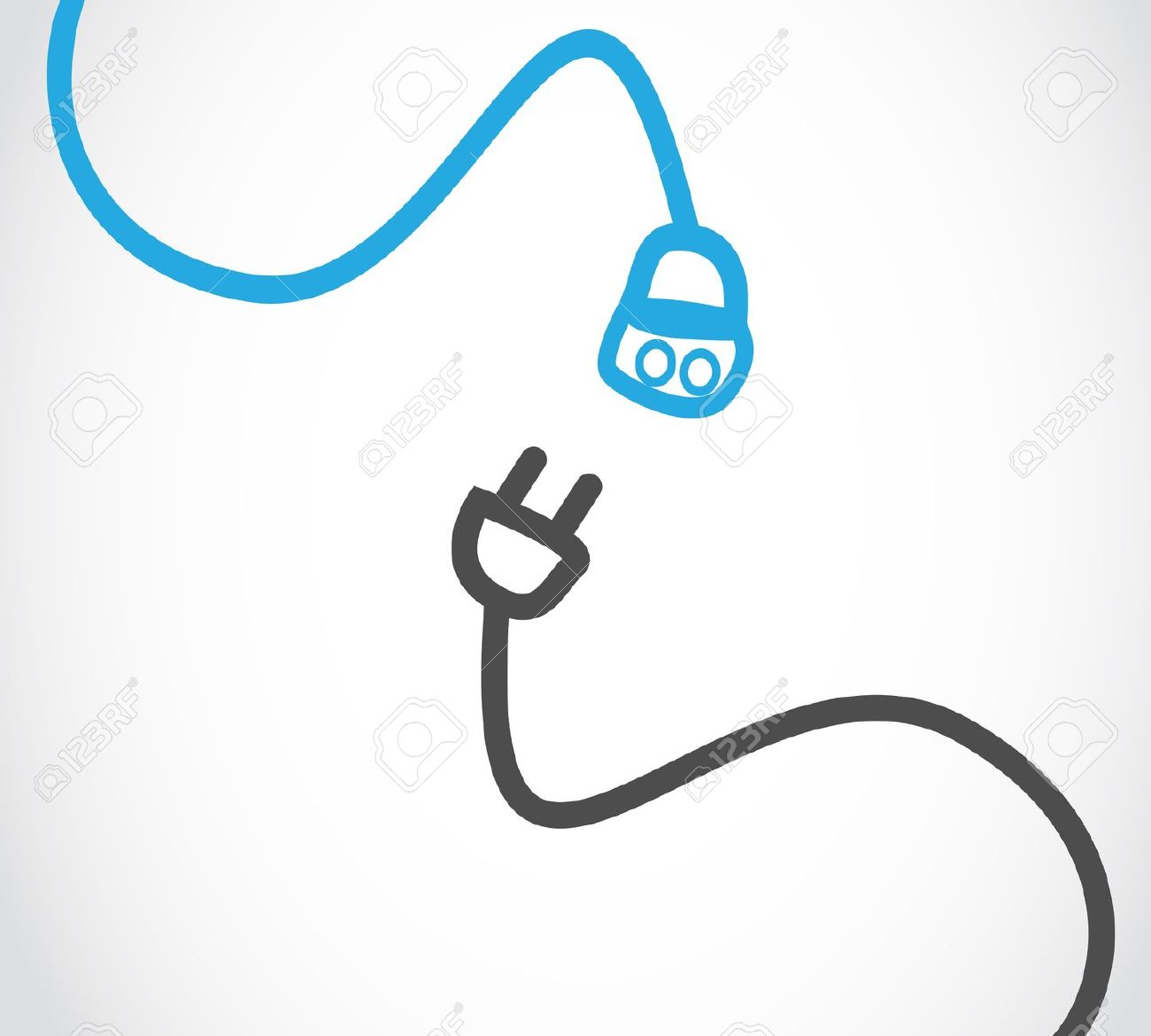 Wire Clip Art : Electric cable clipart clipground