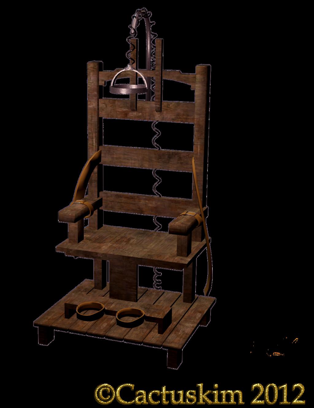 Electric chair clip art.