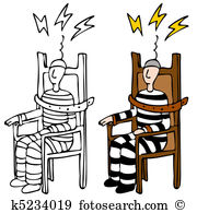 Electric chair Clip Art Vector Graphics. 287 electric chair EPS.