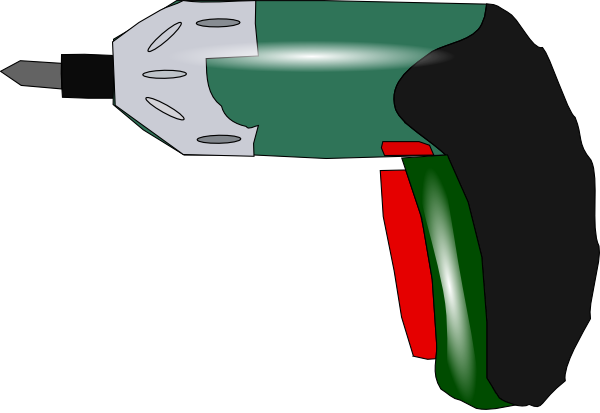 Electric Drill clip art Free Vector / 4Vector.