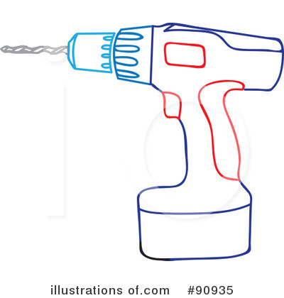 Power Drill Clipart.