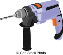 Electric drill Vector Clipart EPS Images. 1,698 Electric drill.