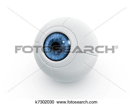 Stock Illustrations of electric eye k7302030.