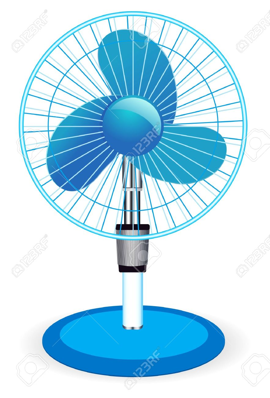 Table Fan Royalty Free Cliparts, Vectors, And Stock Illustration.
