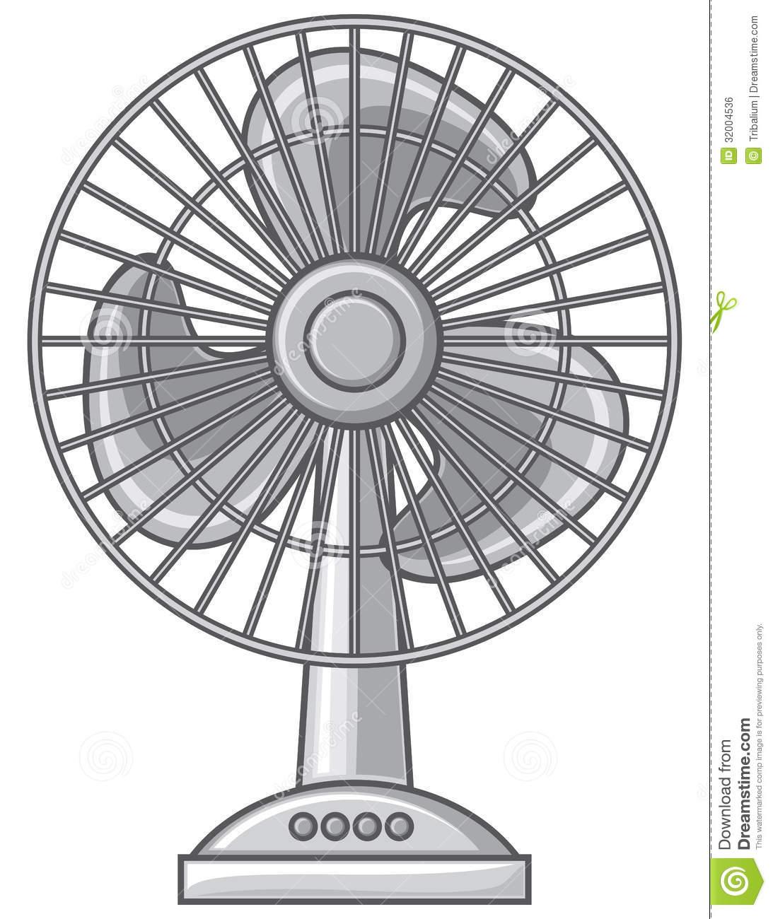 Clipart electric fan.