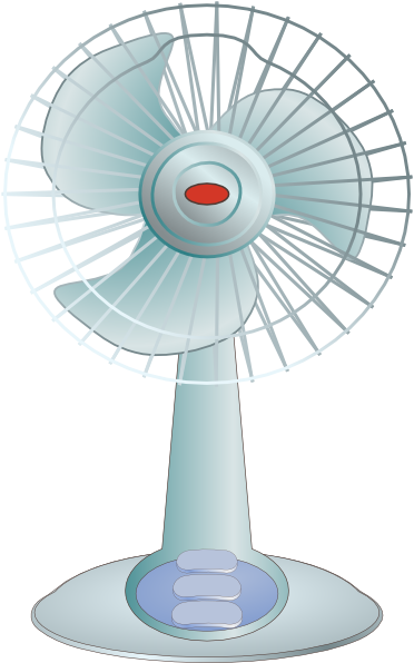 Cliparts Red Fan Clipart.