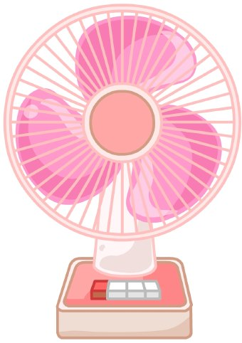 Electric Fan Clipart.