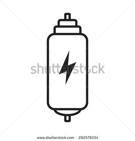 Electric Fuse Stock Vector 291749645.