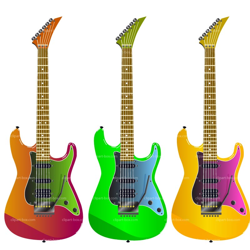 CLIPART ELECTRIC GUITAR.